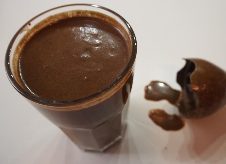 Shake protéiné vegan au cacao cru