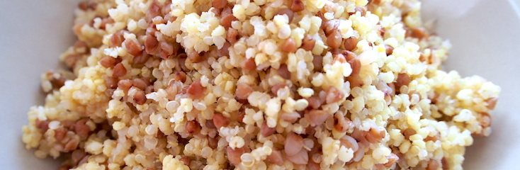 How to cook buckwheat, quinoa and millet
