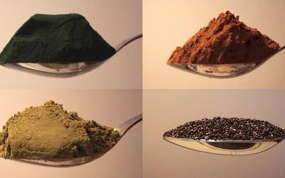 Poids des ingrédients à la cuillère