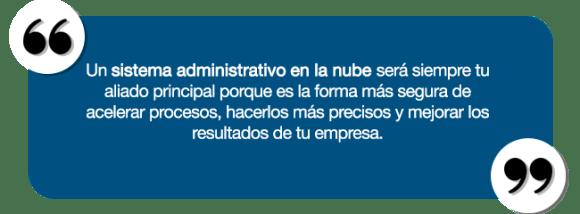 quote-sistema administrativo
