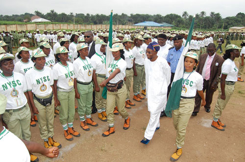 Image result for Aregbesola applauds NYSC Scheme