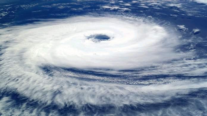 Image satellite d'un cataclysme