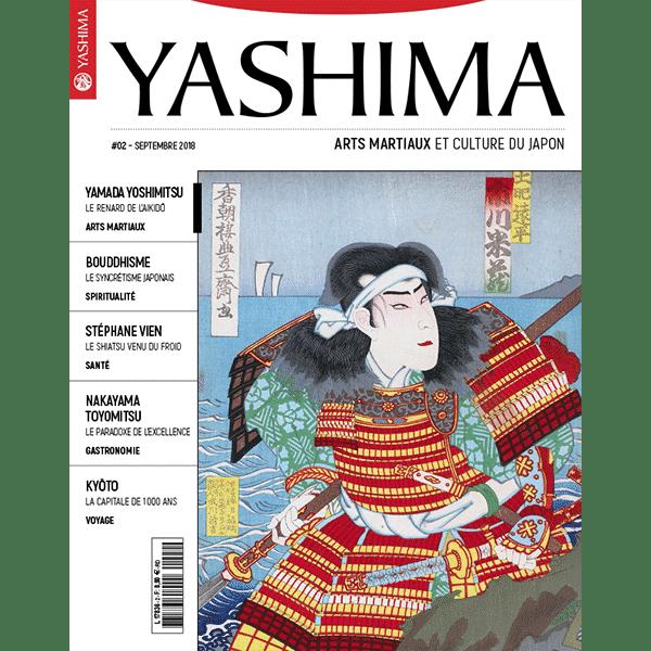 Couverture du magazine yashima_tome2