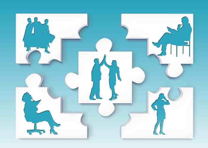 Puzzle avec les tâches quotidiennes