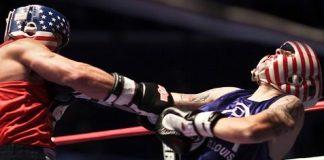 Combat de boxe anglaise