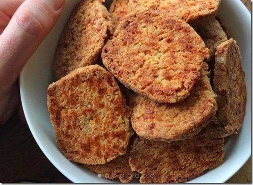 Biscuits à l'ail