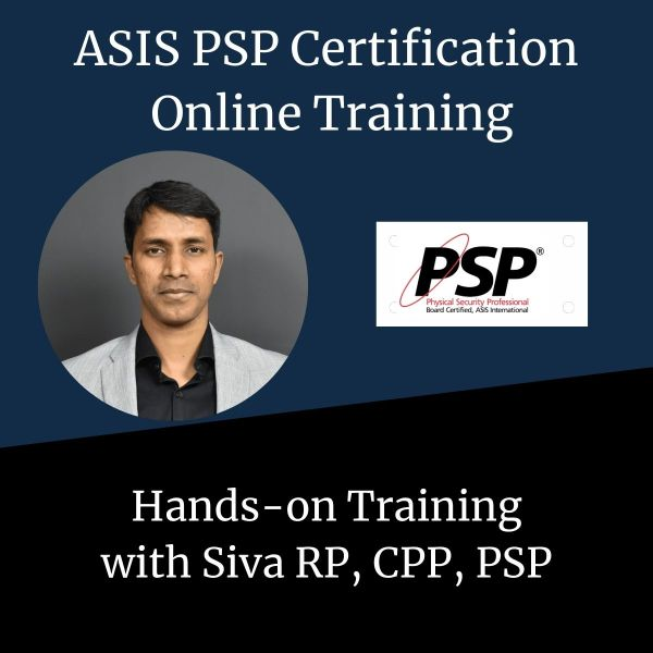 ASIS PSP Training