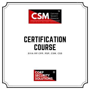 Advanced Security Management Certification Course