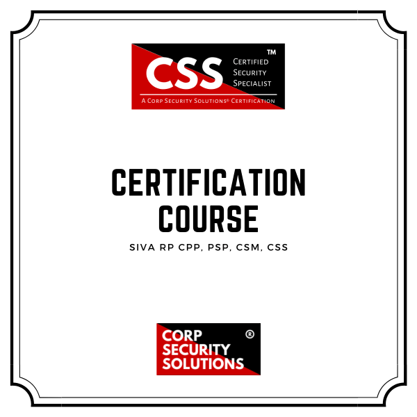 Advanced Physical Security Certification Course