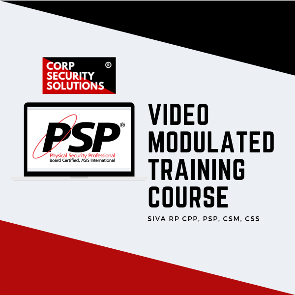 ASIS PSP Training Course