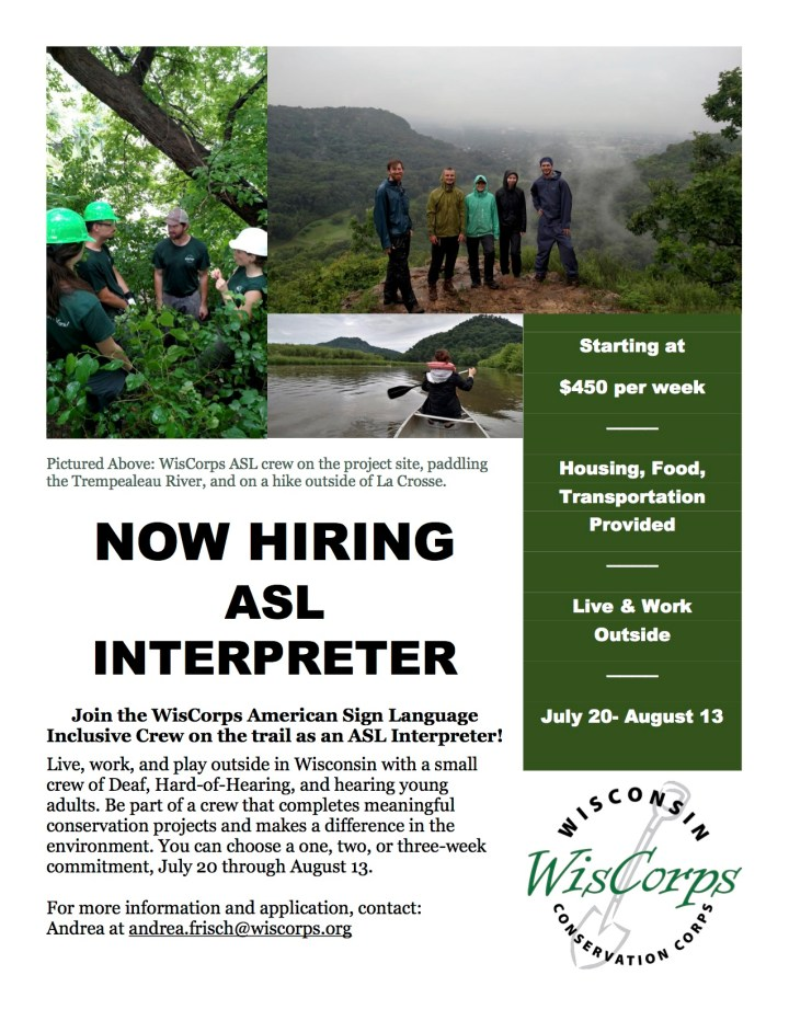Flyer for Interpreter