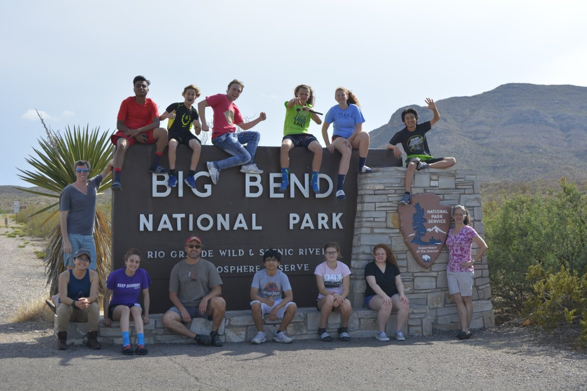 big bend sign TSD