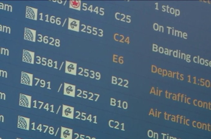 Flights delayed at major US airports because of staffing, FAA says, as government shutdown drags on