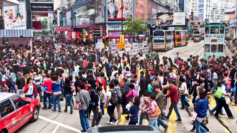 The 10 busiest cities in the world