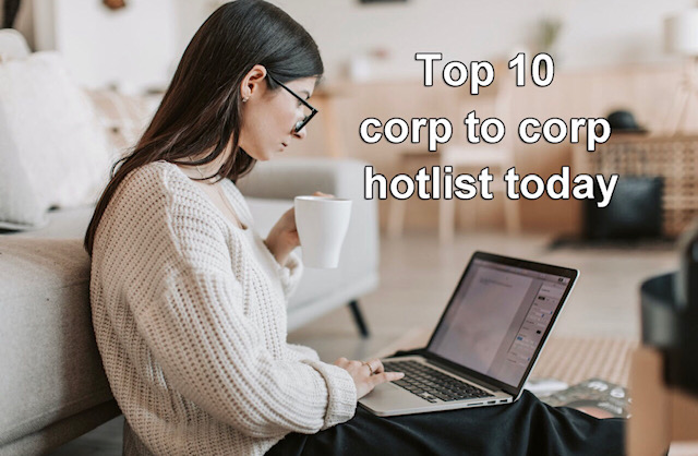 Corp to corp hotlist and C2C jobs today