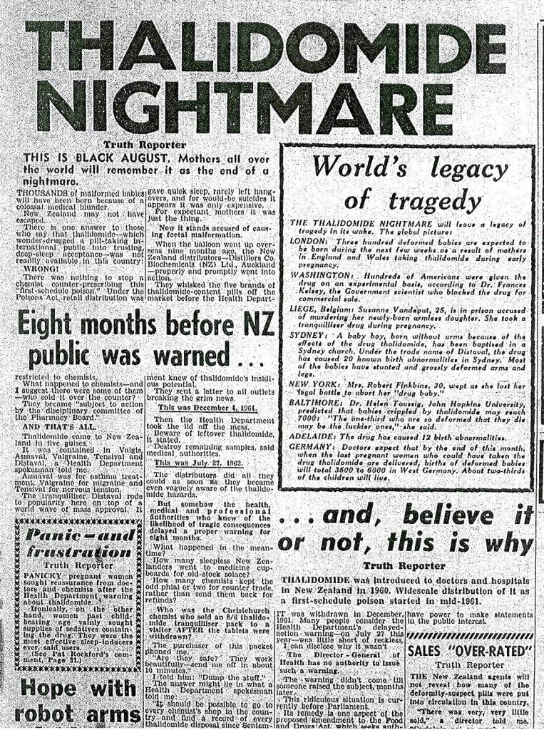 Thalidomide article - 1962-08-07