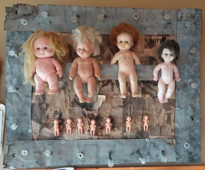 Brebner doll art