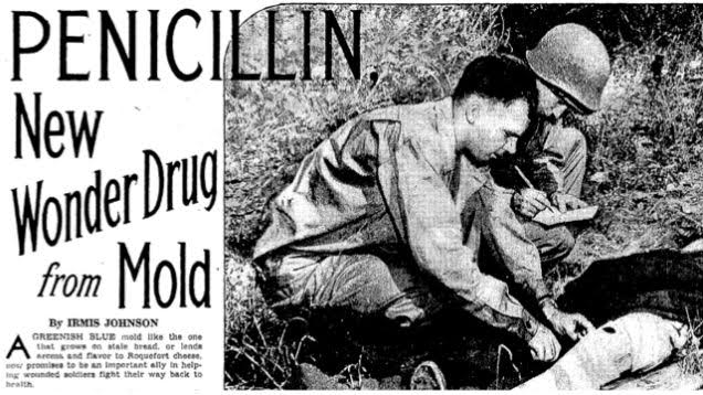 peniclline war image