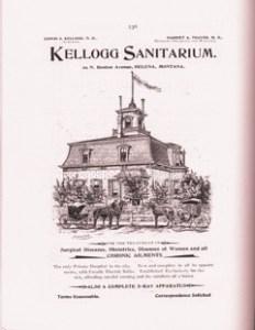 Kellogg Sanitarium advertisemen