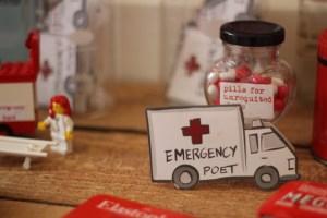 Emergency poet