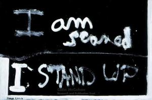 I am Scared by Colin McCahon