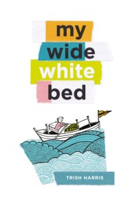 my wide white bed