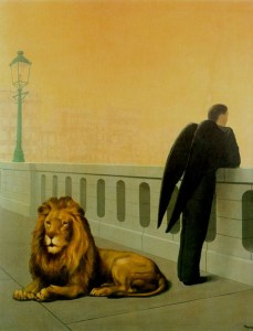 Le Mal du Pays by Rene Magritte 1940 Oil on canvas