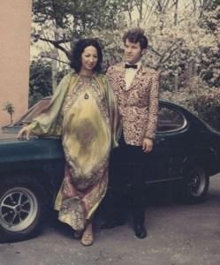 Whetu Tirikatene-Sullivan with Dennis Sullivan in 1973.