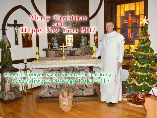 Merry Christmas from Corpus Christi Church and Fr. Michał Czyżewski.