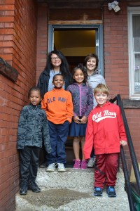 Students and Teachers of St. Luke's Mission of Mercy