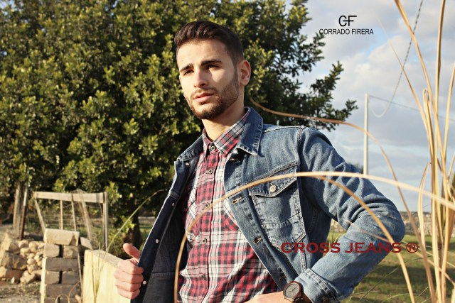 DENIM JACKET, CROSS JEANS, CORRADO FIRERA