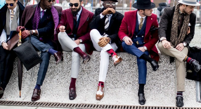 pitti uomo 2018, vestiti uomo del 2018, blazer, giacche, quadri, tartan, vestiti gessati