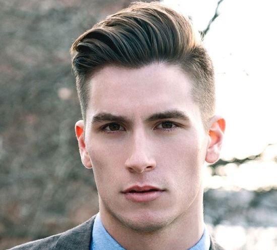 come acconciare i capelli per uomo su di un lato, capelli corti per uomo