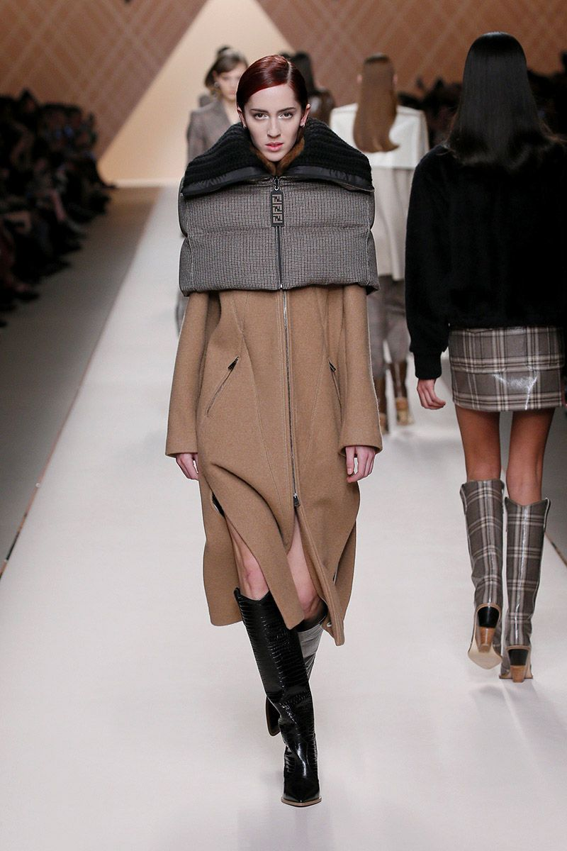 fendi, winter 2018/2019, fashion trends autumn winter 2018 2019