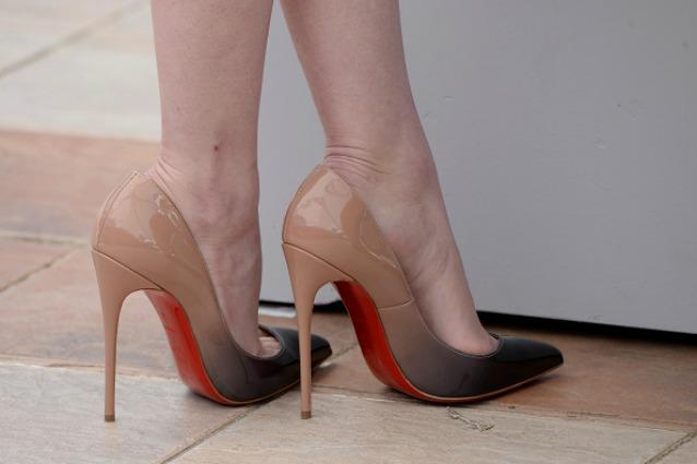 scarpe col tacco senza plateau