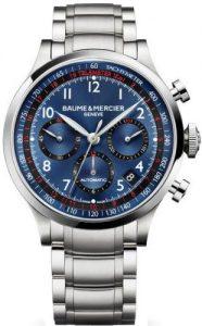 Baume & Mercier MOA10066 - Orologio da polso da uomo, orologi svizzeri