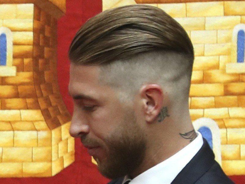 mens haircut 2019, sergio ramos