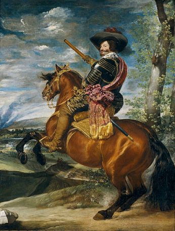 Conde Duque de Olivares a caballo, 1634