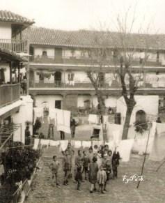 Charles Alberty López en el Corral del Conde, 1928