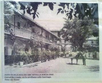 Corral del Conde en el diario ABC, 1940