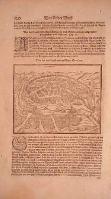 Sevilla, Cosmographia, 1544, Sebastian Muenster, from the rare 1628 edition of Munster's Cosmography printed in Basel