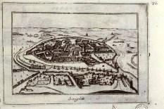 Sevilla, Vincenzo Maria Coronelli, 1706