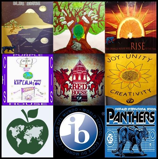 houses ib cis logo collage