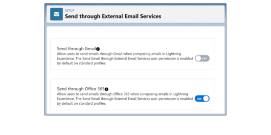setup showing the new feature in the salesforce winter '22 release notes