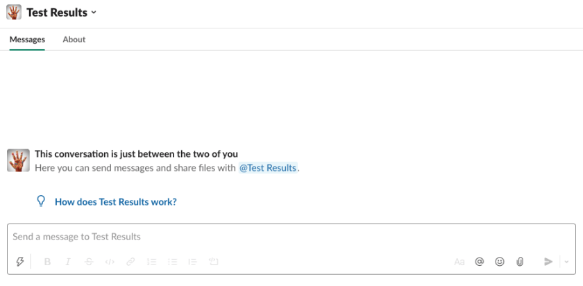 Slack notifications for SurfaceTrends