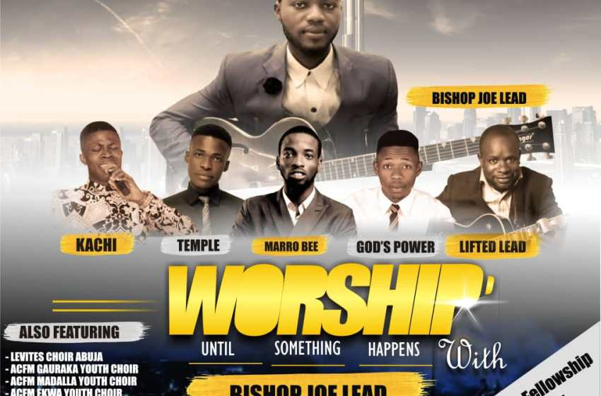 "EVENT: THE GRATEFUL CONCERT ""WORSHIP UNTIL SOMETHING HAPPENS"""