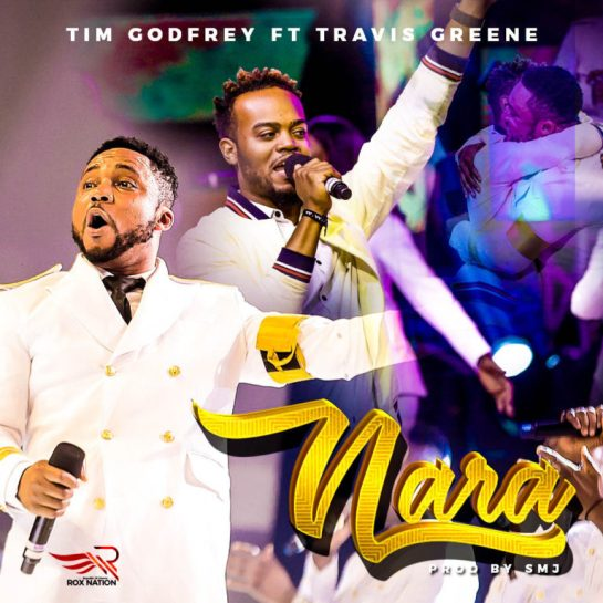 "The Fearless King himself, Tim Godfrey officially outs the highly-anticipated video for his latest single ""Nara,"" which he the highly acclaimed American singer-songwriter, Travis Greene."