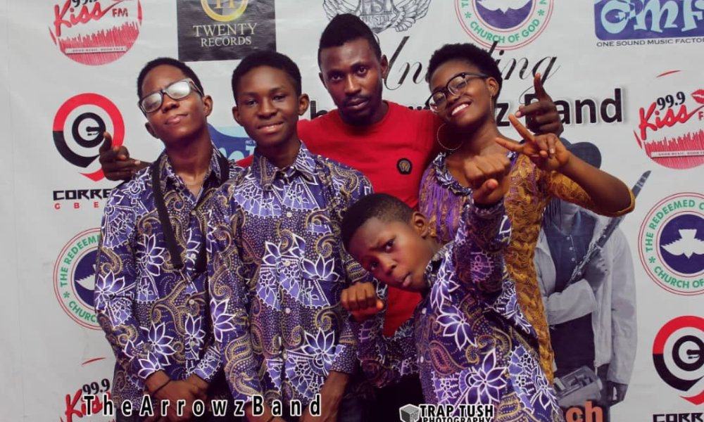 Red Carpet Pictures Of The Arrowz Band Unveiling Ep Concert