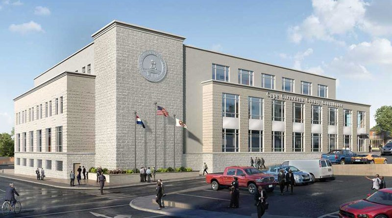 Officials Break Ground on Cape Girardeau County Justice Center