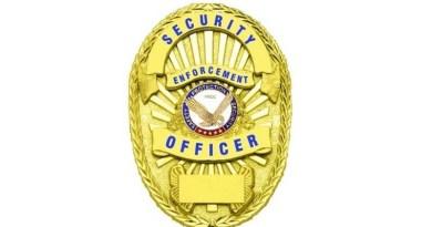Enforcement Officer Gold Shield Badge